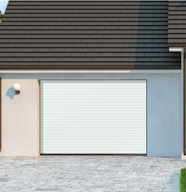 comment poser une porte de garage enroulable