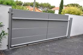 Comment Fabriquer Un Portail Coulissant En Aluminium La Menuiserie