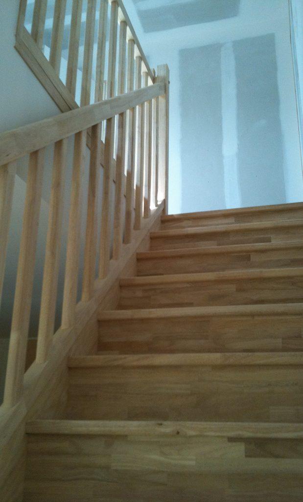comment construire un escalier intérieur en bois