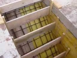 comment ferrailler un escalier beton